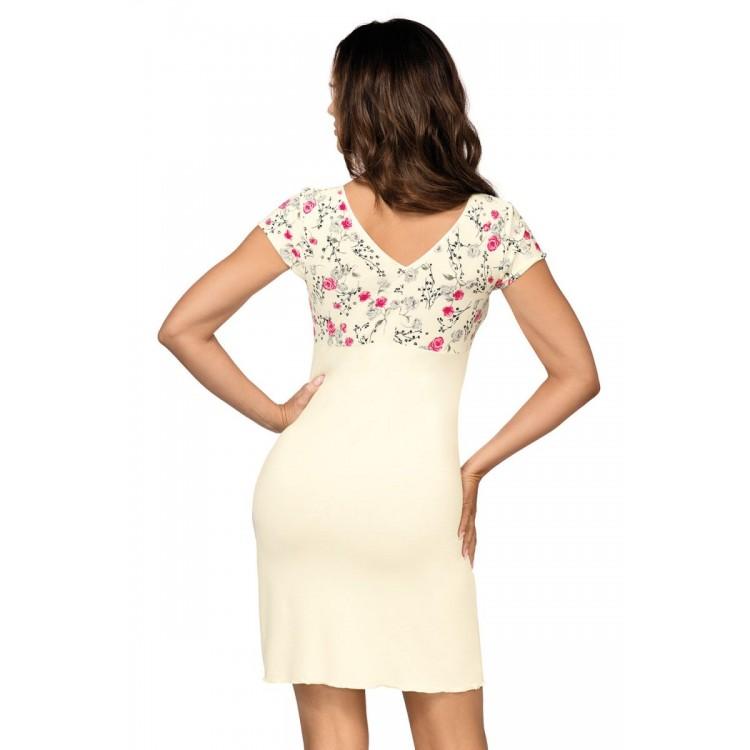Нежная сорочка Jenny с цветочным рисунком в верхней части