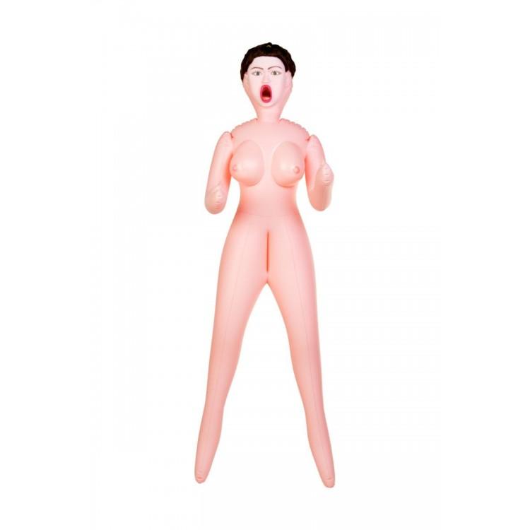 Надувная кукла с тремя любовными отверстиями