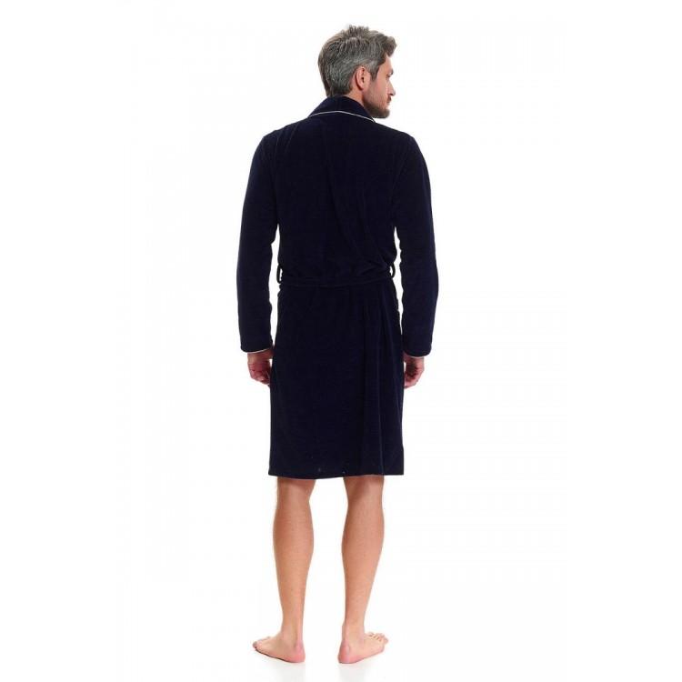 Мужской халат с длинными рукавами