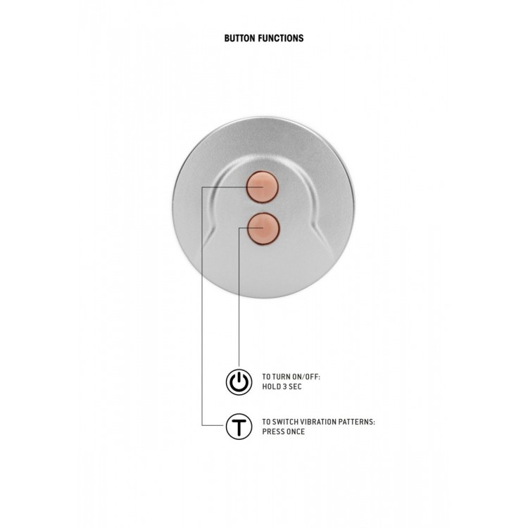 Телесный вибратор Vibrating Dildo With Balls - 20 см.