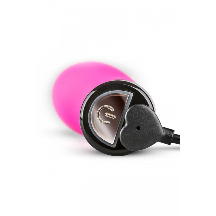 Розовый силиконовый мини-вибратор Lil Gspot - 13 см.